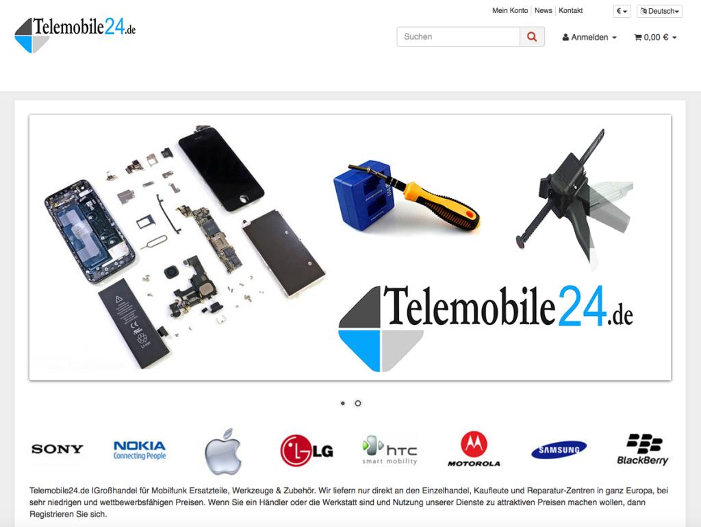 Telemobile24.de - JTL Shop 4 Installation und Grundkonfiguration abgeschlossen