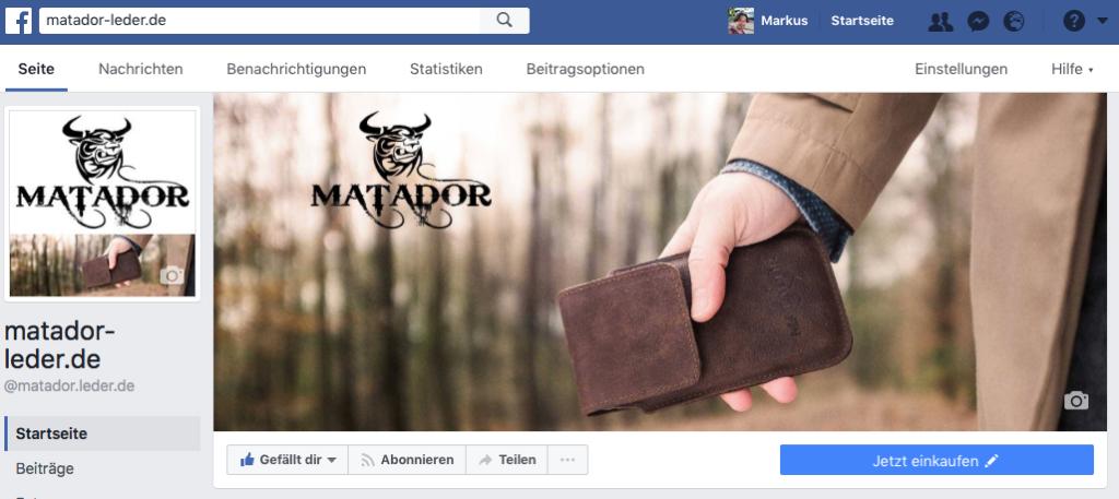 Matador Leder Facebook